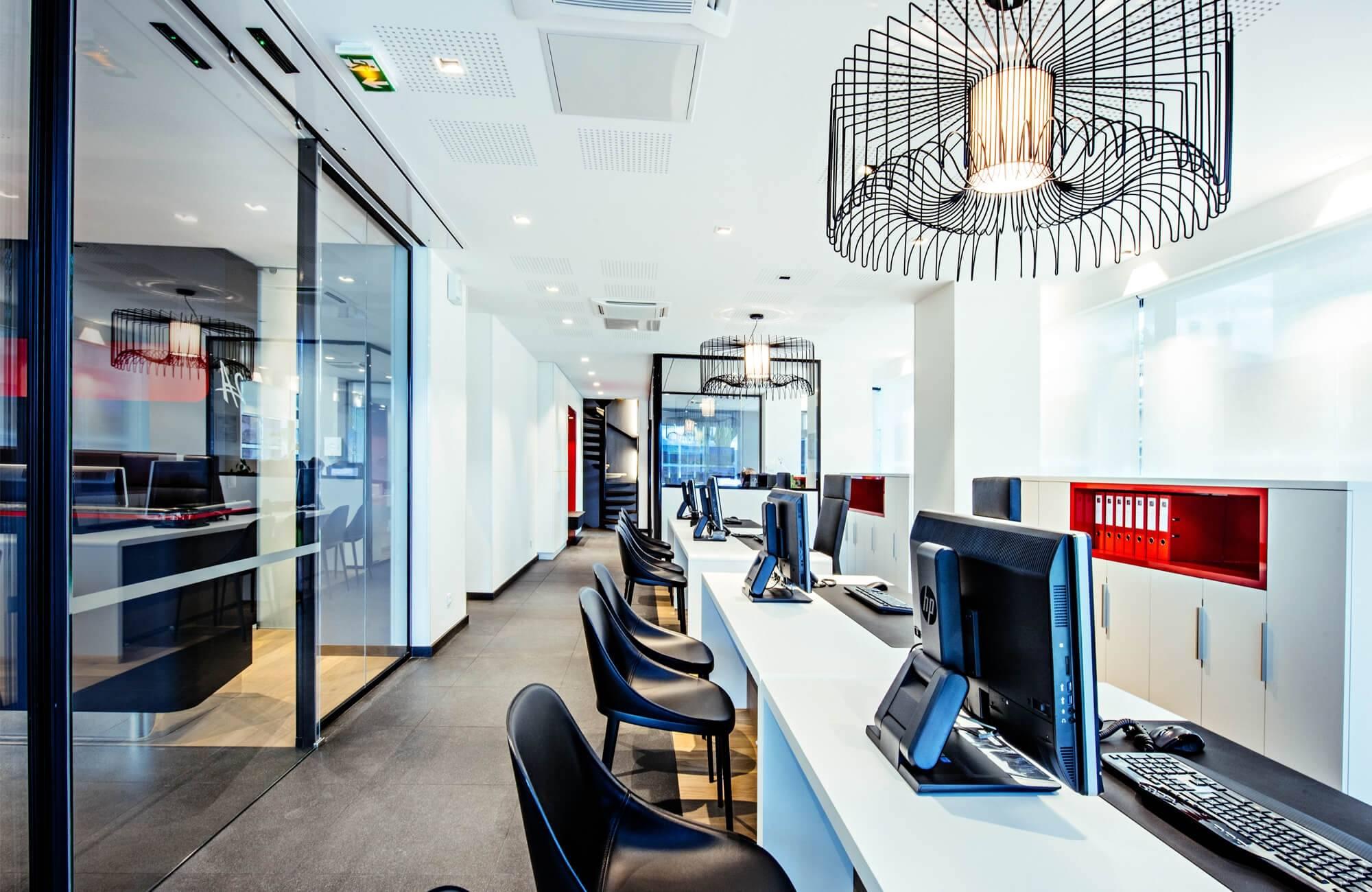 Créadesign bureaux architecte intérieur de bureaux